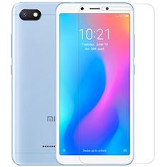 Schutzfolie Displayschutzfolie Panzerfolie Skins zum Aufkleben Gehärtetes Glas Glasfolie T01 für Xiaomi Redmi 6A Klar