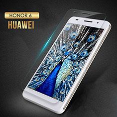 Schutzfolie Displayschutzfolie Panzerfolie Skins zum Aufkleben Gehärtetes Glas Glasfolie T02 für Huawei Honor 6 Klar
