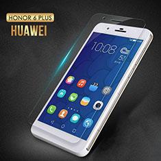 Schutzfolie Displayschutzfolie Panzerfolie Skins zum Aufkleben Gehärtetes Glas Glasfolie T02 für Huawei Honor 6 Plus Klar