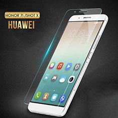 Schutzfolie Displayschutzfolie Panzerfolie Skins zum Aufkleben Gehärtetes Glas Glasfolie T02 für Huawei Honor 7i shot X Klar
