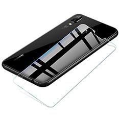 Schutzfolie Displayschutzfolie Panzerfolie Skins zum Aufkleben Gehärtetes Glas Glasfolie T02 für Huawei P20 Lite Klar