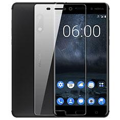 Schutzfolie Displayschutzfolie Panzerfolie Skins zum Aufkleben Gehärtetes Glas Glasfolie T02 für Nokia 6 Klar