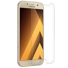 Schutzfolie Displayschutzfolie Panzerfolie Skins zum Aufkleben Gehärtetes Glas Glasfolie T02 für Samsung Galaxy A3 (2017) SM-A320F Klar