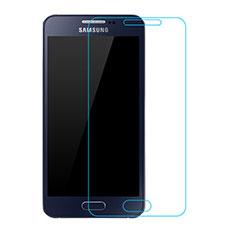 Schutzfolie Displayschutzfolie Panzerfolie Skins zum Aufkleben Gehärtetes Glas Glasfolie T02 für Samsung Galaxy A3 SM-300F Klar
