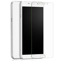 Schutzfolie Displayschutzfolie Panzerfolie Skins zum Aufkleben Gehärtetes Glas Glasfolie T02 für Samsung Galaxy A9 (2016) A9000 Klar