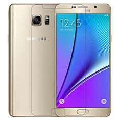 Schutzfolie Displayschutzfolie Panzerfolie Skins zum Aufkleben Gehärtetes Glas Glasfolie T02 für Samsung Galaxy Note 5 N9200 N920 N920F Klar