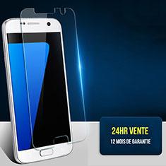 Schutzfolie Displayschutzfolie Panzerfolie Skins zum Aufkleben Gehärtetes Glas Glasfolie T02 für Samsung Galaxy S7 G930F G930FD Klar