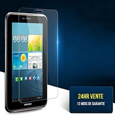 Schutzfolie Displayschutzfolie Panzerfolie Skins zum Aufkleben Gehärtetes Glas Glasfolie T02 für Samsung Galaxy Tab 2 7.0 P3100 P3110 Klar
