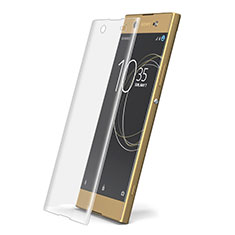 Schutzfolie Displayschutzfolie Panzerfolie Skins zum Aufkleben Gehärtetes Glas Glasfolie T02 für Sony Xperia XA1 Ultra Klar
