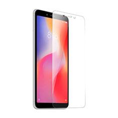 Schutzfolie Displayschutzfolie Panzerfolie Skins zum Aufkleben Gehärtetes Glas Glasfolie T02 für Xiaomi Redmi 6A Klar