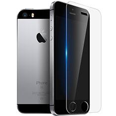 Schutzfolie Displayschutzfolie Panzerfolie Skins zum Aufkleben Gehärtetes Glas Glasfolie T03 für Apple iPhone 5 Klar