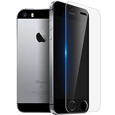 Schutzfolie Displayschutzfolie Panzerfolie Skins zum Aufkleben Gehärtetes Glas Glasfolie T03 für Apple iPhone SE Klar