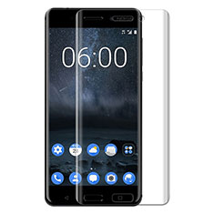 Schutzfolie Displayschutzfolie Panzerfolie Skins zum Aufkleben Gehärtetes Glas Glasfolie T03 für Nokia 6 Klar