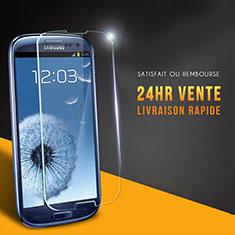 Schutzfolie Displayschutzfolie Panzerfolie Skins zum Aufkleben Gehärtetes Glas Glasfolie T03 für Samsung Galaxy S3 III LTE 4G Klar