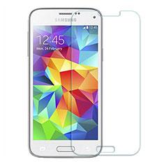 Schutzfolie Displayschutzfolie Panzerfolie Skins zum Aufkleben Gehärtetes Glas Glasfolie T03 für Samsung Galaxy S5 Mini G800F G800H Klar