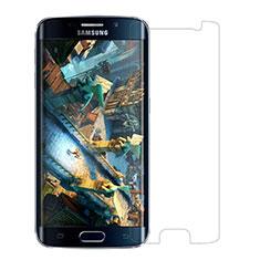 Schutzfolie Displayschutzfolie Panzerfolie Skins zum Aufkleben Gehärtetes Glas Glasfolie T03 für Samsung Galaxy S6 Edge SM-G925 Klar