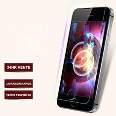 Schutzfolie Displayschutzfolie Panzerfolie Skins zum Aufkleben Gehärtetes Glas Glasfolie T06 für Apple iPhone 5S Klar