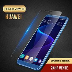 Schutzfolie Displayschutzfolie Panzerfolie Skins zum Aufkleben Gehärtetes Glas Glasfolie T06 für Huawei Honor View 10 Klar