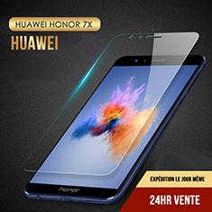 Schutzfolie Displayschutzfolie Panzerfolie Skins zum Aufkleben Gehärtetes Glas Glasfolie T08 für Huawei Honor 7X Klar
