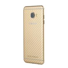 Schutzfolie Displayschutzfolie Panzerfolie Skins zum Aufkleben Rückseite für Samsung Galaxy C7 SM-C7000 Weiß
