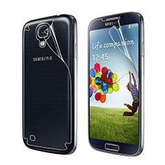 Schutzfolie Displayschutzfolie Panzerfolie Skins zum Aufkleben Vorder und Rückseite für Samsung Galaxy S4 i9500 i9505 Klar