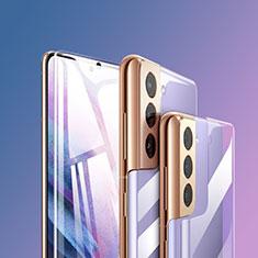 Schutzfolie Displayschutzfolie Panzerfolie Vorder und Rückseite Skins zum Aufkleben F01 für Samsung Galaxy S21 5G Klar