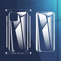 Schutzfolie Displayschutzfolie Panzerfolie Vorder und Rückseite Skins zum Aufkleben für Apple iPhone 12 Klar