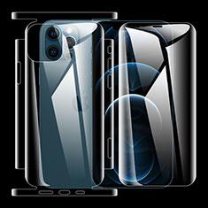 Schutzfolie Displayschutzfolie Panzerfolie Vorder und Rückseite Skins zum Aufkleben für Apple iPhone 12 Pro Klar