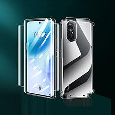 Schutzfolie Displayschutzfolie Panzerfolie Vorder und Rückseite Skins zum Aufkleben für Huawei Nova 8 5G Klar