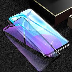 Schutzfolie Full Coverage Displayschutzfolie Panzerfolie Gehärtetes Glas Glasfolie Anti Blue Ray Skins zum Aufkleben Panzerglas F02 für Huawei Honor 30 Lite 5G Schwarz