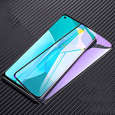 Schutzfolie Full Coverage Displayschutzfolie Panzerfolie Gehärtetes Glas Glasfolie Anti Blue Ray Skins zum Aufkleben Panzerglas F02 für Huawei Honor 30S Schwarz
