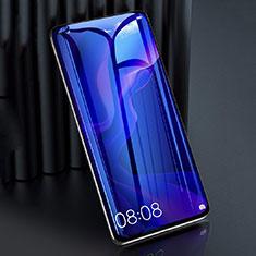 Schutzfolie Full Coverage Displayschutzfolie Panzerfolie Gehärtetes Glas Glasfolie Anti Blue Ray Skins zum Aufkleben Panzerglas F02 für Huawei P40 Lite Schwarz