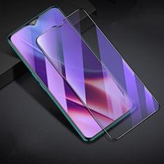 Schutzfolie Full Coverage Displayschutzfolie Panzerfolie Gehärtetes Glas Glasfolie Anti Blue Ray Skins zum Aufkleben Panzerglas F02 für Realme XT Schwarz
