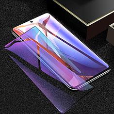 Schutzfolie Full Coverage Displayschutzfolie Panzerfolie Gehärtetes Glas Glasfolie Anti Blue Ray Skins zum Aufkleben Panzerglas F02 für Samsung Galaxy Note 20 5G Schwarz