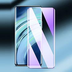 Schutzfolie Full Coverage Displayschutzfolie Panzerfolie Gehärtetes Glas Glasfolie Anti Blue Ray Skins zum Aufkleben Panzerglas F02 für Xiaomi Mi 11 5G Schwarz