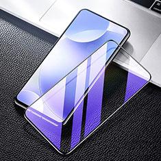 Schutzfolie Full Coverage Displayschutzfolie Panzerfolie Gehärtetes Glas Glasfolie Anti Blue Ray Skins zum Aufkleben Panzerglas F03 für Xiaomi Poco F2 Pro Schwarz