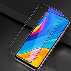 Schutzfolie Full Coverage Displayschutzfolie Panzerfolie Gehärtetes Glas Glasfolie Anti Blue Ray Skins zum Aufkleben Panzerglas für Huawei Enjoy 10 Schwarz