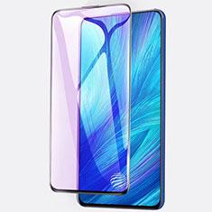 Schutzfolie Full Coverage Displayschutzfolie Panzerfolie Gehärtetes Glas Glasfolie Anti Blue Ray Skins zum Aufkleben Panzerglas für Huawei Enjoy 20 Plus 5G Schwarz