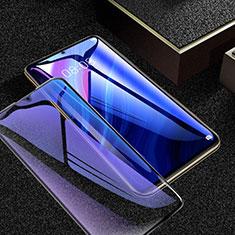 Schutzfolie Full Coverage Displayschutzfolie Panzerfolie Gehärtetes Glas Glasfolie Anti Blue Ray Skins zum Aufkleben Panzerglas für Huawei Enjoy 20 Pro 5G Schwarz
