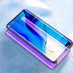 Schutzfolie Full Coverage Displayschutzfolie Panzerfolie Gehärtetes Glas Glasfolie Anti Blue Ray Skins zum Aufkleben Panzerglas für Huawei Honor 30 Pro Schwarz