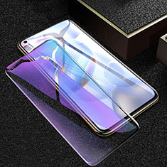Schutzfolie Full Coverage Displayschutzfolie Panzerfolie Gehärtetes Glas Glasfolie Anti Blue Ray Skins zum Aufkleben Panzerglas für Huawei Honor 30 Schwarz