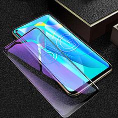 Schutzfolie Full Coverage Displayschutzfolie Panzerfolie Gehärtetes Glas Glasfolie Anti Blue Ray Skins zum Aufkleben Panzerglas für Huawei Honor 30S Schwarz
