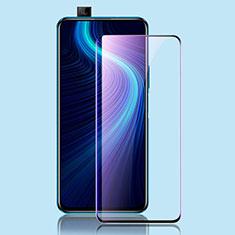 Schutzfolie Full Coverage Displayschutzfolie Panzerfolie Gehärtetes Glas Glasfolie Anti Blue Ray Skins zum Aufkleben Panzerglas für Huawei Honor X10 5G Schwarz