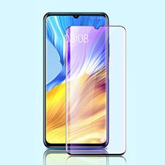 Schutzfolie Full Coverage Displayschutzfolie Panzerfolie Gehärtetes Glas Glasfolie Anti Blue Ray Skins zum Aufkleben Panzerglas für Huawei Honor X10 Max 5G Schwarz