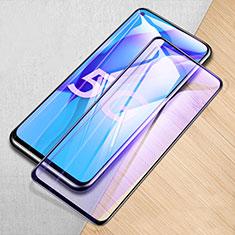 Schutzfolie Full Coverage Displayschutzfolie Panzerfolie Gehärtetes Glas Glasfolie Anti Blue Ray Skins zum Aufkleben Panzerglas für Huawei Mate 40 Lite 5G Schwarz