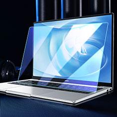 Schutzfolie Full Coverage Displayschutzfolie Panzerfolie Gehärtetes Glas Glasfolie Anti Blue Ray Skins zum Aufkleben Panzerglas für Huawei Matebook D14 (2020) Schwarz