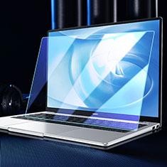 Schutzfolie Full Coverage Displayschutzfolie Panzerfolie Gehärtetes Glas Glasfolie Anti Blue Ray Skins zum Aufkleben Panzerglas für Huawei Matebook X Pro (2020) Schwarz