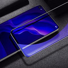 Schutzfolie Full Coverage Displayschutzfolie Panzerfolie Gehärtetes Glas Glasfolie Anti Blue Ray Skins zum Aufkleben Panzerglas für Huawei P40 Lite Schwarz
