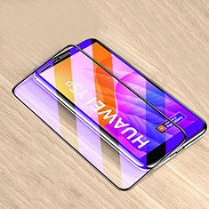 Schutzfolie Full Coverage Displayschutzfolie Panzerfolie Gehärtetes Glas Glasfolie Anti Blue Ray Skins zum Aufkleben Panzerglas für Huawei Y5p Schwarz