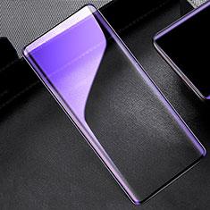 Schutzfolie Full Coverage Displayschutzfolie Panzerfolie Gehärtetes Glas Glasfolie Anti Blue Ray Skins zum Aufkleben Panzerglas für OnePlus 8 Schwarz